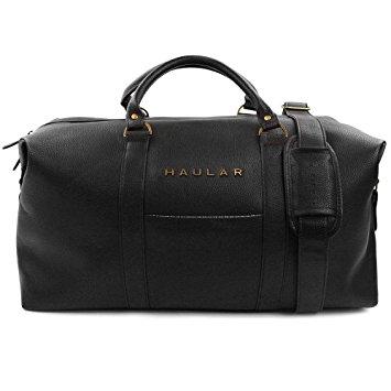 weekender bag, haular overnight travel carry on duffel tote holdall bag  [brass finishing] RDPHVQU